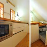 """Dachgeschoss Küche mit Essbereich """"M."""" von Rosenkranz"""