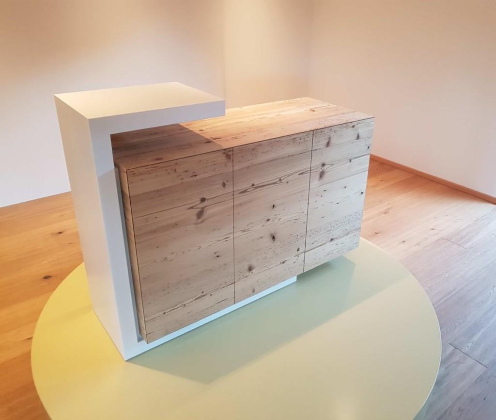 Möbel aus Fichtenaltholz